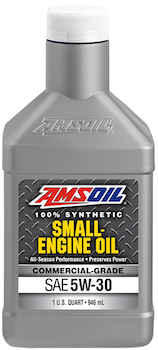 AMSOIL 5W-30 Synthetic Small Engine Oil - Commercial Grade (AES)