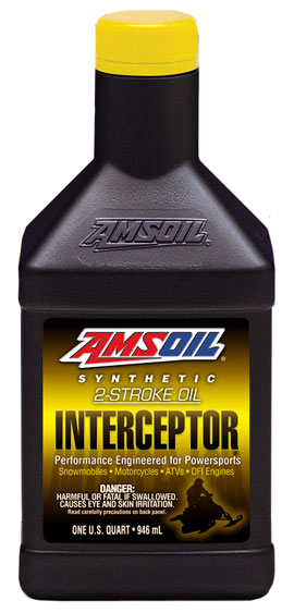 AMSOIL INTERCEPTOR 2-Cycle Oil (AIT)
