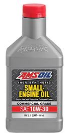 AMSOIL 10W-30 Synthetic Small Engine Oil - Commercial Grade (ASE)