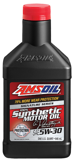 AMSOIL SAE 5W-30 Signature Series 100% Synthetic Motor Oil (ASL)