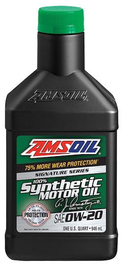 AMSOIL SAE 0W-20 Signature Series 100% Synthetic Motor Oil (ASM)
