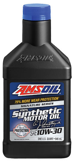 AMSOIL SAE 10W-30 Signature Series 100% Synthetic Motor Oil (ATM)