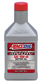 AMSOIL 10W-40 Synthetic ATV/UTV Motor Oil