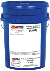 AMSOIL Synthetic Anti-Wear Hydraulic Oil - ISO 22 (AWG)