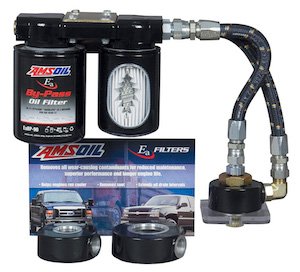 AMSOIL BMK-23 General Use Dual Remote Oil Bypass Unit
