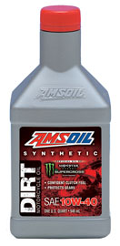 AMSOIL Synthetic SAE 10W-40 Dirt Bike Oil (DB40)