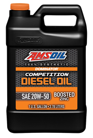 AMSOIL DOMINATOR 20W-50 Competition Diesel Oil (DCO)