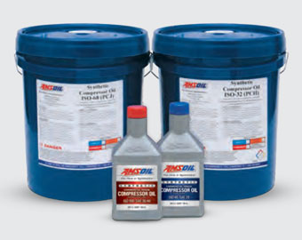 AMSOIL PC Series Compressor Oil (PCK) ISO 100, SAE 40