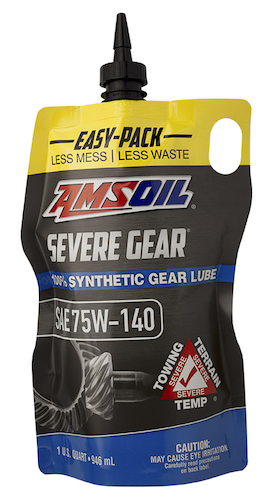AMSOIL SEVERE GEAR Extreme Pressure (EP) Lubricant 75W-140 (SVO)