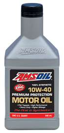 AMSOIL 10W-40 Synthetic Premium Protection Motor Oil (AMO)