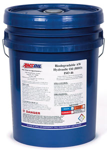AMSOIL Biodegradable Hydraulic Oil - ISO 46 (BHO)