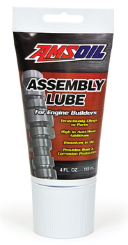AMSOIL High-Quality Assembly Lube for Racing, Performance and Other Four-Stroke Engines