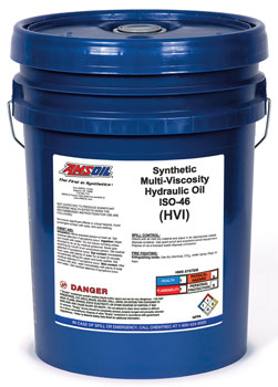 AMSOIL Synthetic HV Hydraulic Oil ISO 46 (HVI)