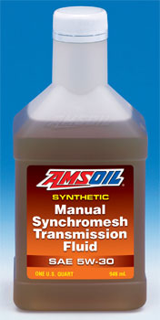 AMSOIL Manual Synchromesh Transmission Fluid 5W-30 (MTF)