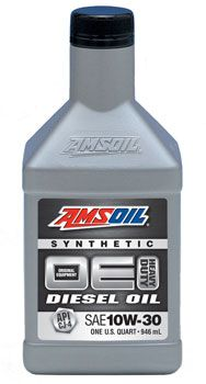 AMSOIL OE 10W-30 Synthetic Diesel Oil (OEC)