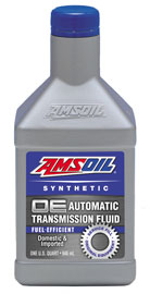 AMSOIL OE Fuel-Efficient Synthetic Automatic Transmission Fluid