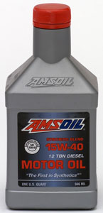 AMSOIL 15W-40 Heavy Duty Motor Oil (PCO)