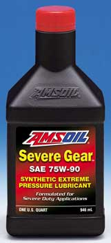 AMSOIL 75W-90 Severe Gear Synthetic Extreme Pressure Lubricant (SVG)